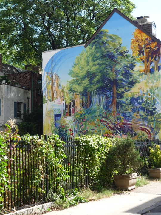 Garden of Delight - a part of Mural Mile