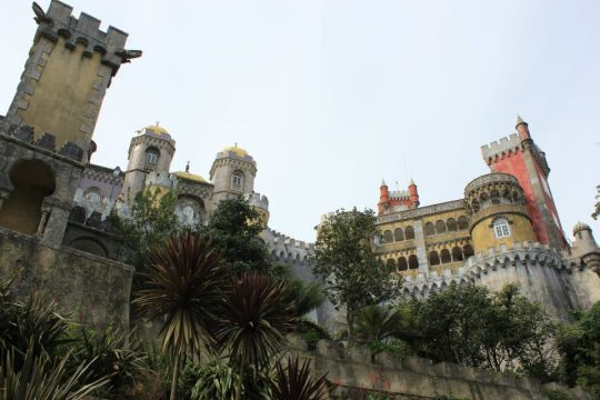 The magical Palace of Pena