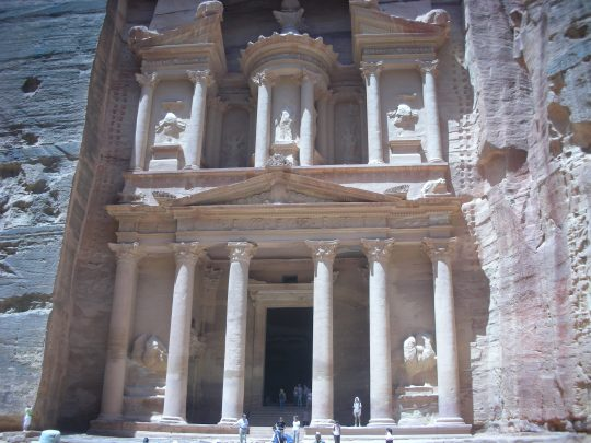 The Treasury, made famous by the movie Indiana Jones