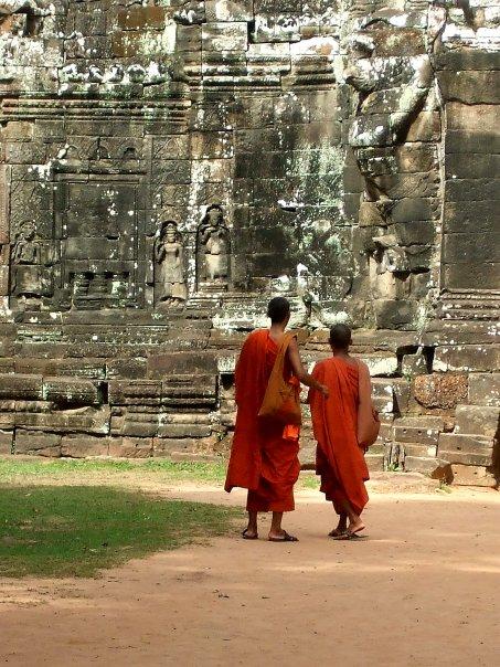 My favourite photo taken at Angkor