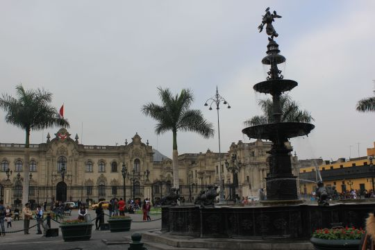 Lima's beautiful historic centre