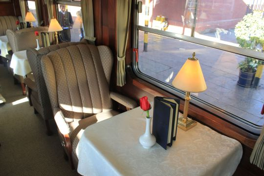 Train trip on the Andean Explorer