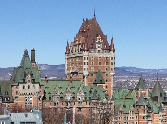 Fairmont Le Chateau Frontenac, one of the world's most photographed hotels