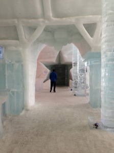 The famous Ice Hotel