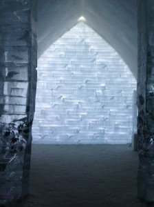 The Ice Hotel - A bit too cold for me!